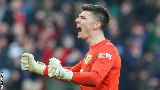 Goalkeeper - Nick Pope (Burnley)
